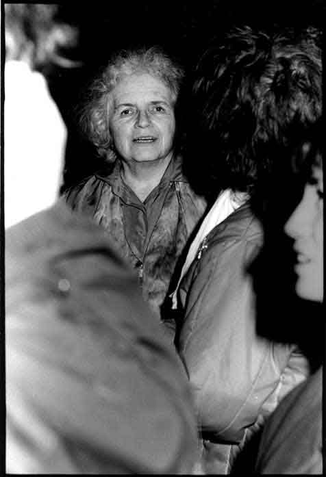 Grace Paley at WRL poetry reading