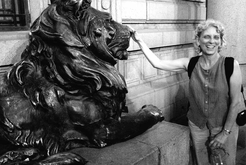 Ruth and lion