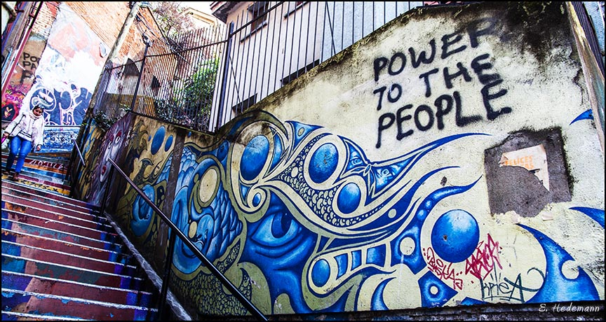 Power to the People mural